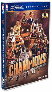 BRAND NEW NBA 2016 Champions - Cleveland Cavaliers (DVD) R4 The Finals