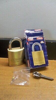 New Abus 8345 800 Weiser E Keyway Rekeyable Brass Padlock Free Usa 1st Cls Sh