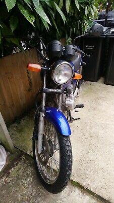 Honda Cg125 Motorcycle 2006