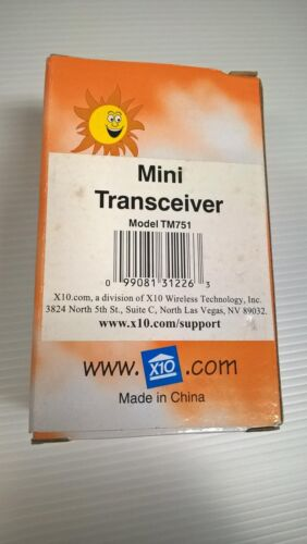 X10 Wireless RF Transceiver TM751 Home Control X-10