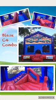 Blaze C4 combo Jumping Castle for hire