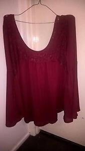 Brand New Deep Red Long Sleeve Dress Top Redland Bay Redland Area Preview