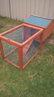TWO HUTCHES AND 2 NETHERLAND DWARF RABBITS Huntingdale Gosnells Area Preview
