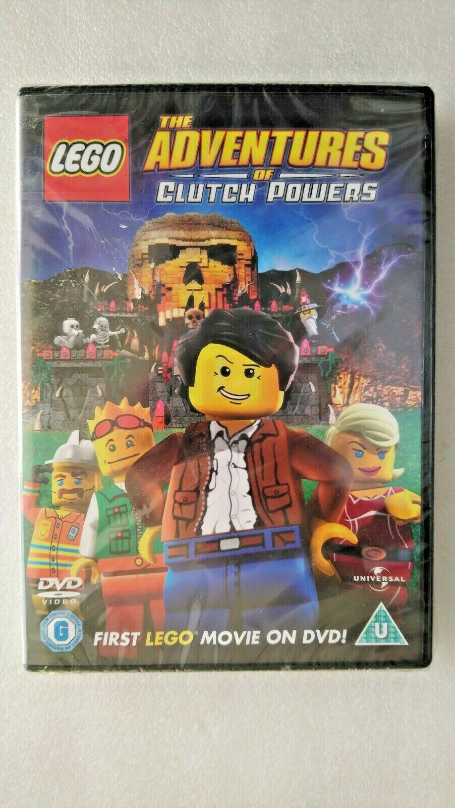 Lego - The Adventures Of Clutch Powers (DVD, 2011)  - New and Sealed