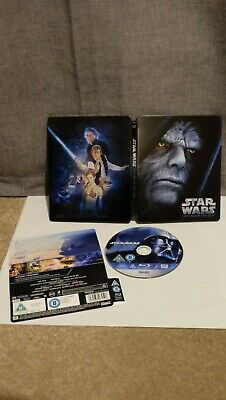 Star Wars Episode VI Return of the Jedi Blu-ray (Bluray) Steelbook OOP