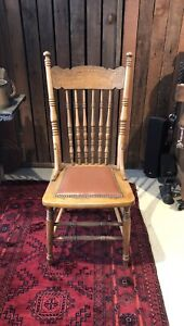 Oak Spindle back chair