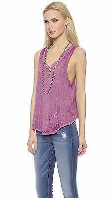 NWT Free People - Breezy Tank Top in Wild Violet