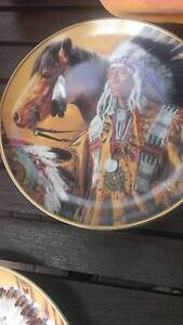 Indian Franklin Mint plates 5 of Rochedale South Brisbane South East Preview