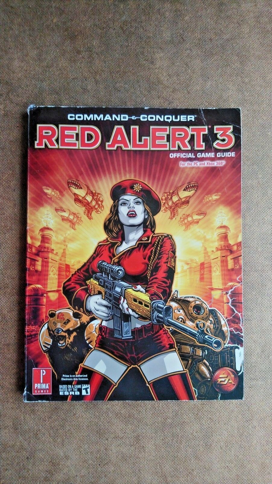 Command and Conquer Red Alert 3 Game Strategy Guide (Paperback 2008)