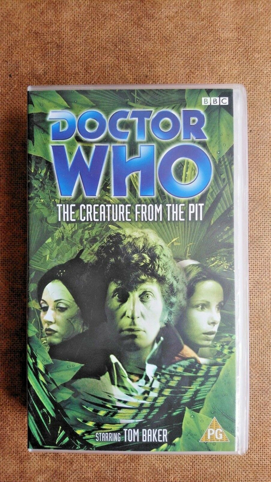 Doctor Who - The Creature From The Pit (VHS, 2002) - Tom Baker (NEW and SEALED)