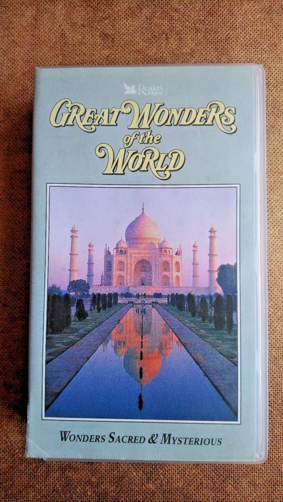 Great Wonders Of The World - Wonders Sacred And Mysterious (VHS, 1995)