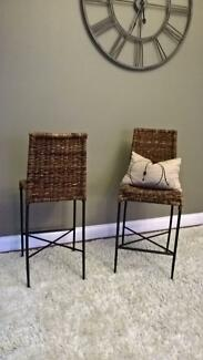 AS GOOD AS NEW!  Kitchen Bar Stool - Manila Bar Stool, Natural
