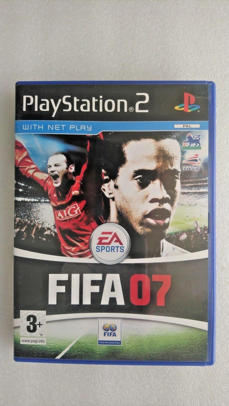 FIFA 07 (Sony PlayStation 2, 2006)