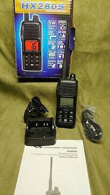 Standard Horizion HX280S Submersible VHF FM Marine Radio (Open Box Never Used)