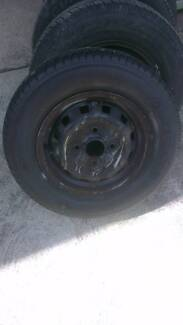 Wheels and Tyres suit Hyundai excel
