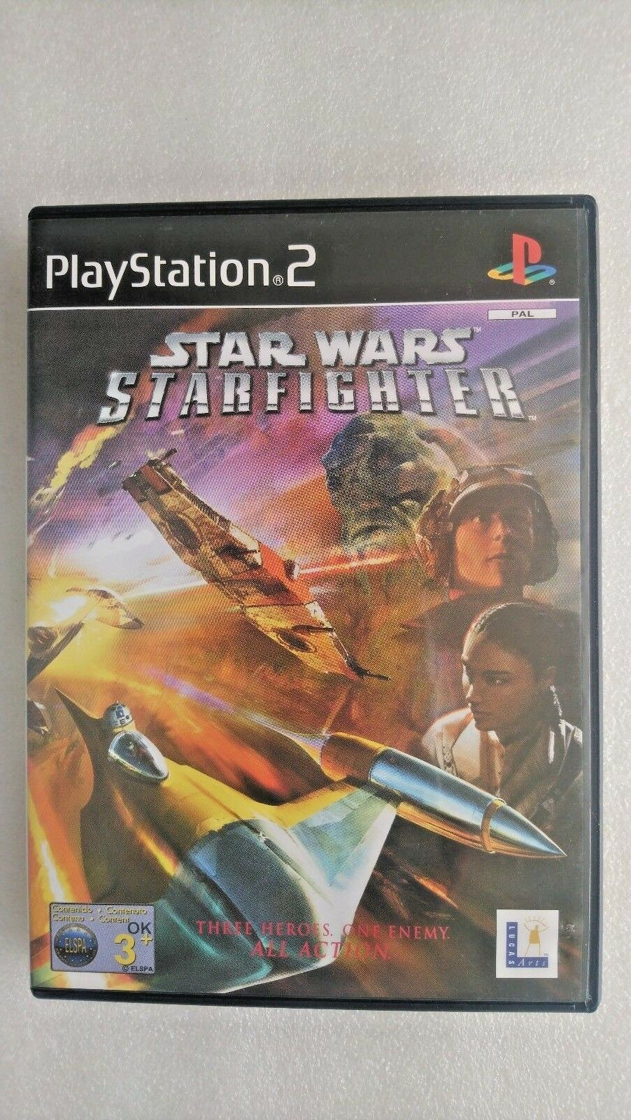 Star Wars Starfighter (Sony PlayStation 2, 2001)