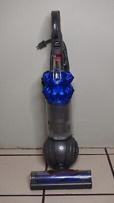 Dyson DC50 Ball Compact Allergy Upright Vacuum Cleaner in Iron/Blue Blue Upright Vacuum Cleaner