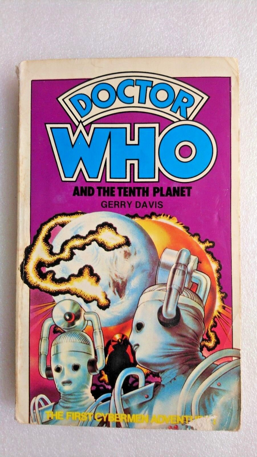Doctor Who The Tenth Planet Target Book  (1978)