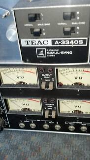 TEAC A-3340S STEREO MULTI-SYNC RECORDING DECK  JAPAN Woy Woy Gosford Area Preview