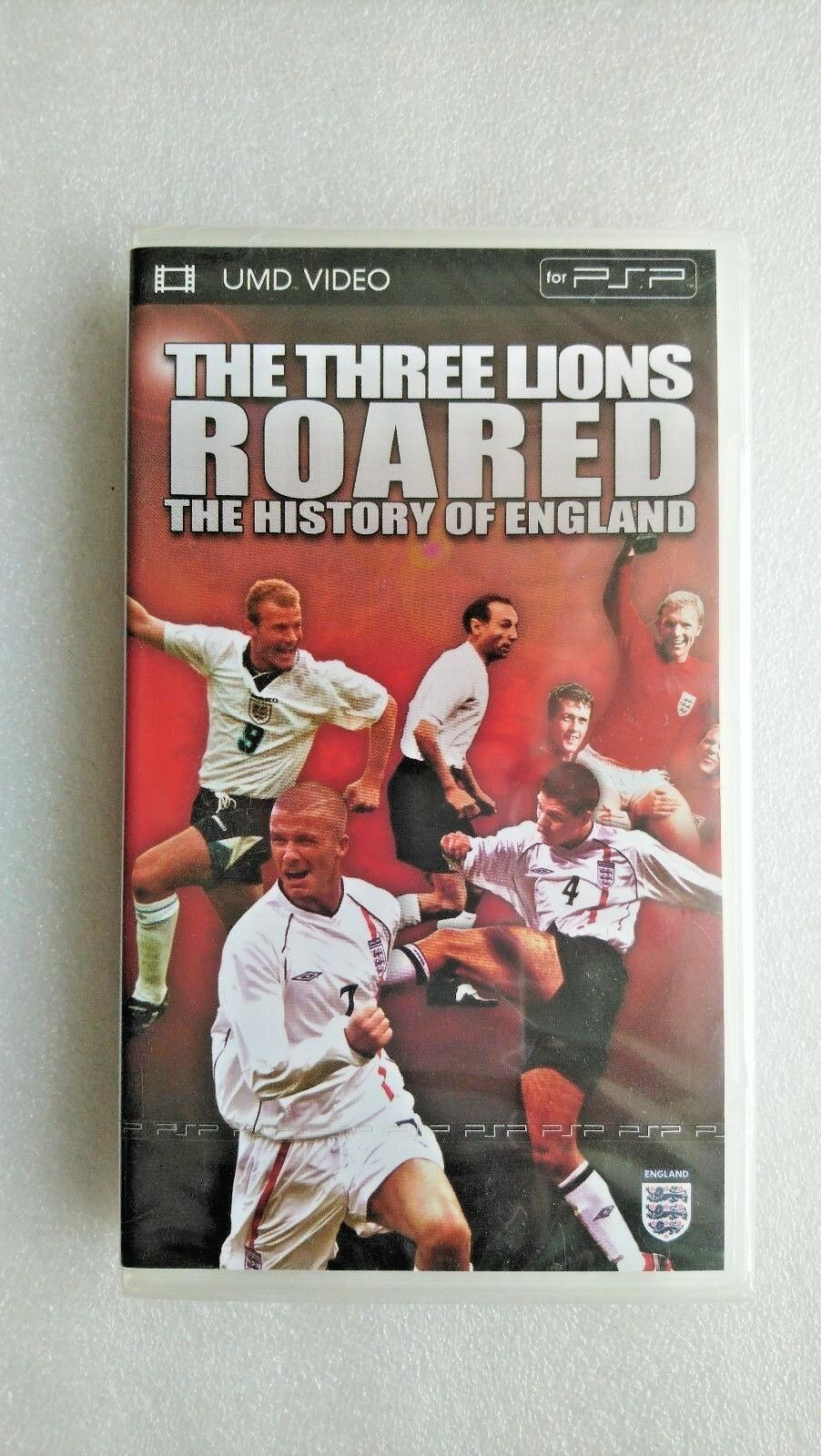 The Three Lions Roared - The History Of England (UMD, 2006) - NEW and SEALED