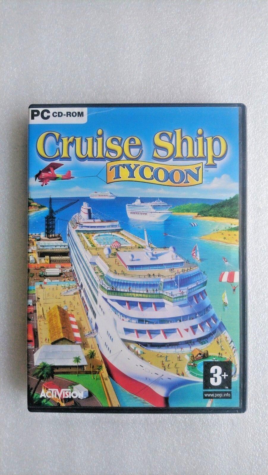 Cruise Ship Tycoon (PC: Windows 2003)