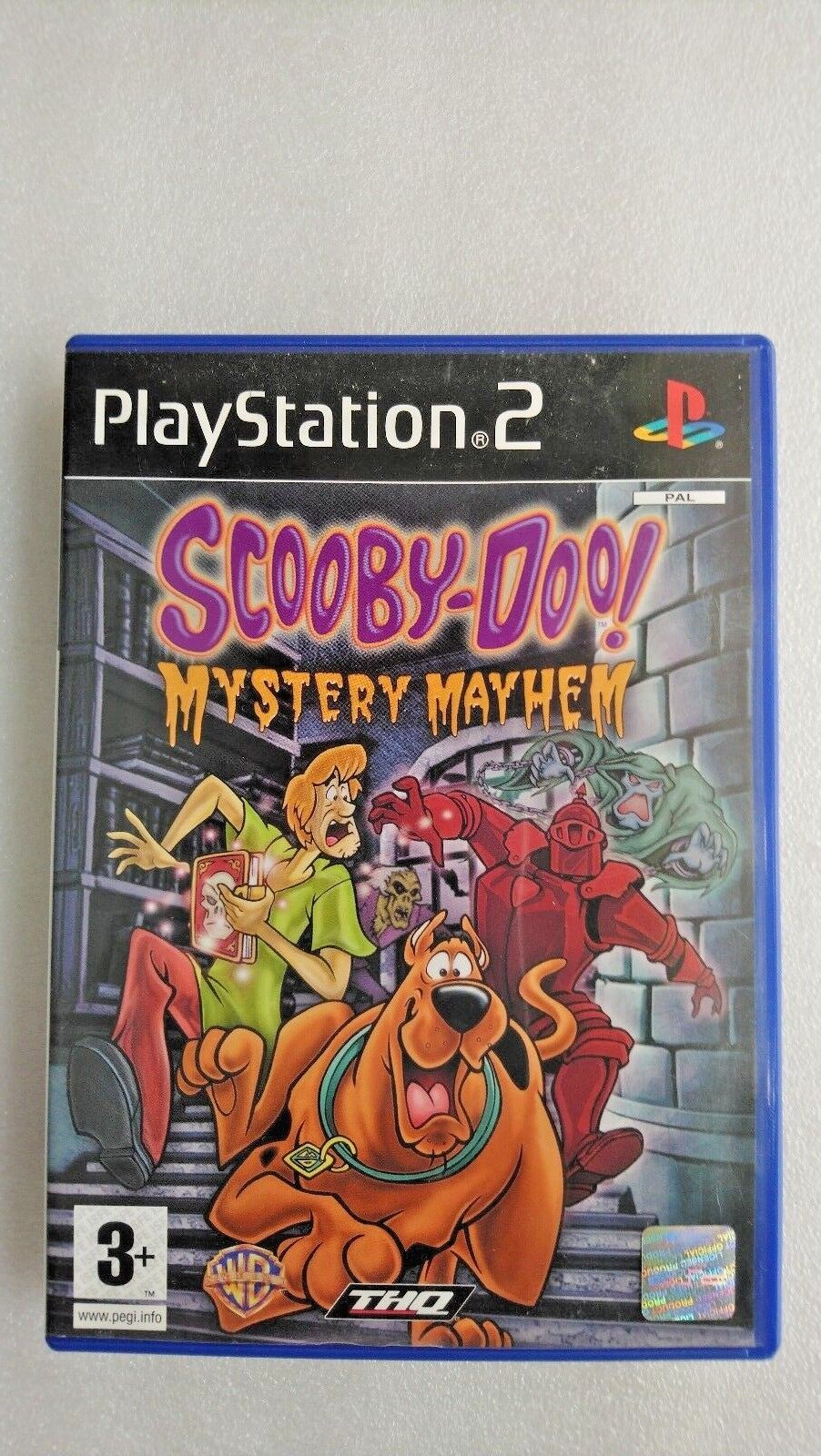Scooby-Doo: Mystery Mayhem (Sony PlayStation 2, 2004) - European Version