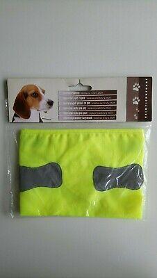 Hundewarnweste Sicherheitsweste Weste Reflektierend Größe S 52x25 cm Neon  (Nylon Sicherheits-weste)