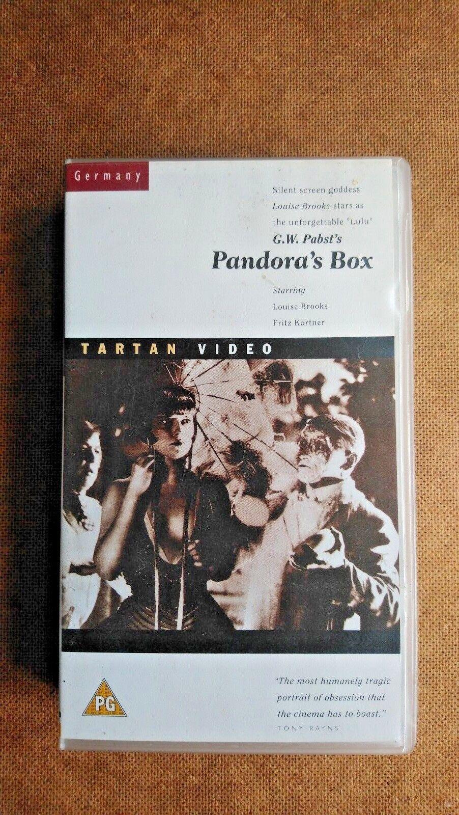 Pandora's Box (VHS/DM, 1993, Silent)
