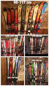 Skis,Boots,Poles,  Helmets,Goggles,Bags, Pants,Jackets,Etc