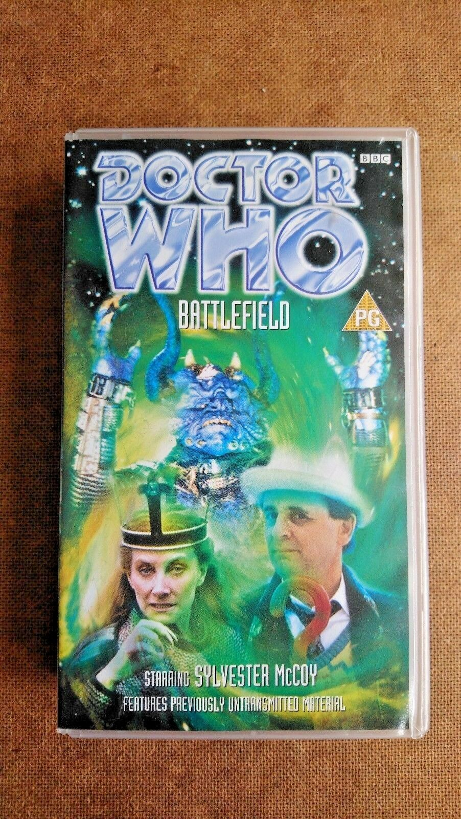 Doctor Who - Battlefield (VHS, 1998) - Sylvester McCoy