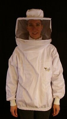Professional Beekeeping Jacket With Round Veil - Xsmall
