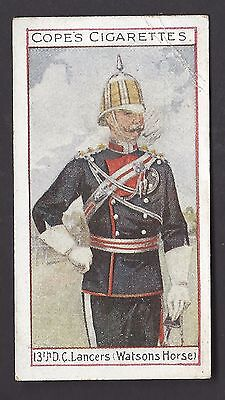 COPE - EMINENT BRITISH REGIMENTS OFFICERS (ENGLISH, BROWN) - #14 13TH LANCERS