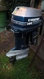 Evinrude 140 HP 2 Stroke V4 Outboard Geelong Geelong City Preview