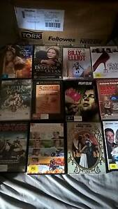 Bulk Lot Of 300 Movie DVDs, Mostly Chick Flix Summer Hill Ashfield Area Preview