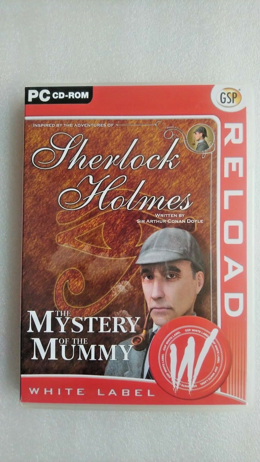 Sherlock Holmes: The Mystery Of The Mummy (PC:, 2002) -  The Adventure Company