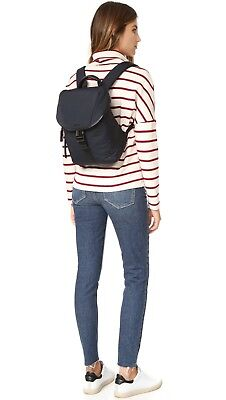 NEW TUMI handbag bag nylon & leather travel carry-on backpac