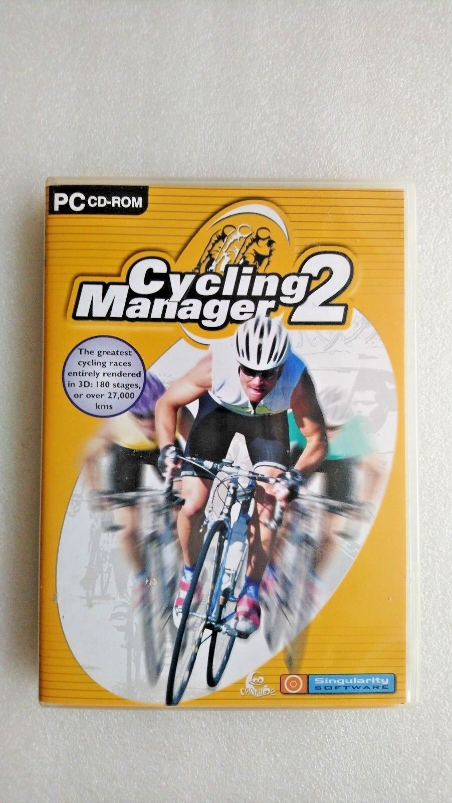 Cycling Manager 2 (PC: Windows, 2002)