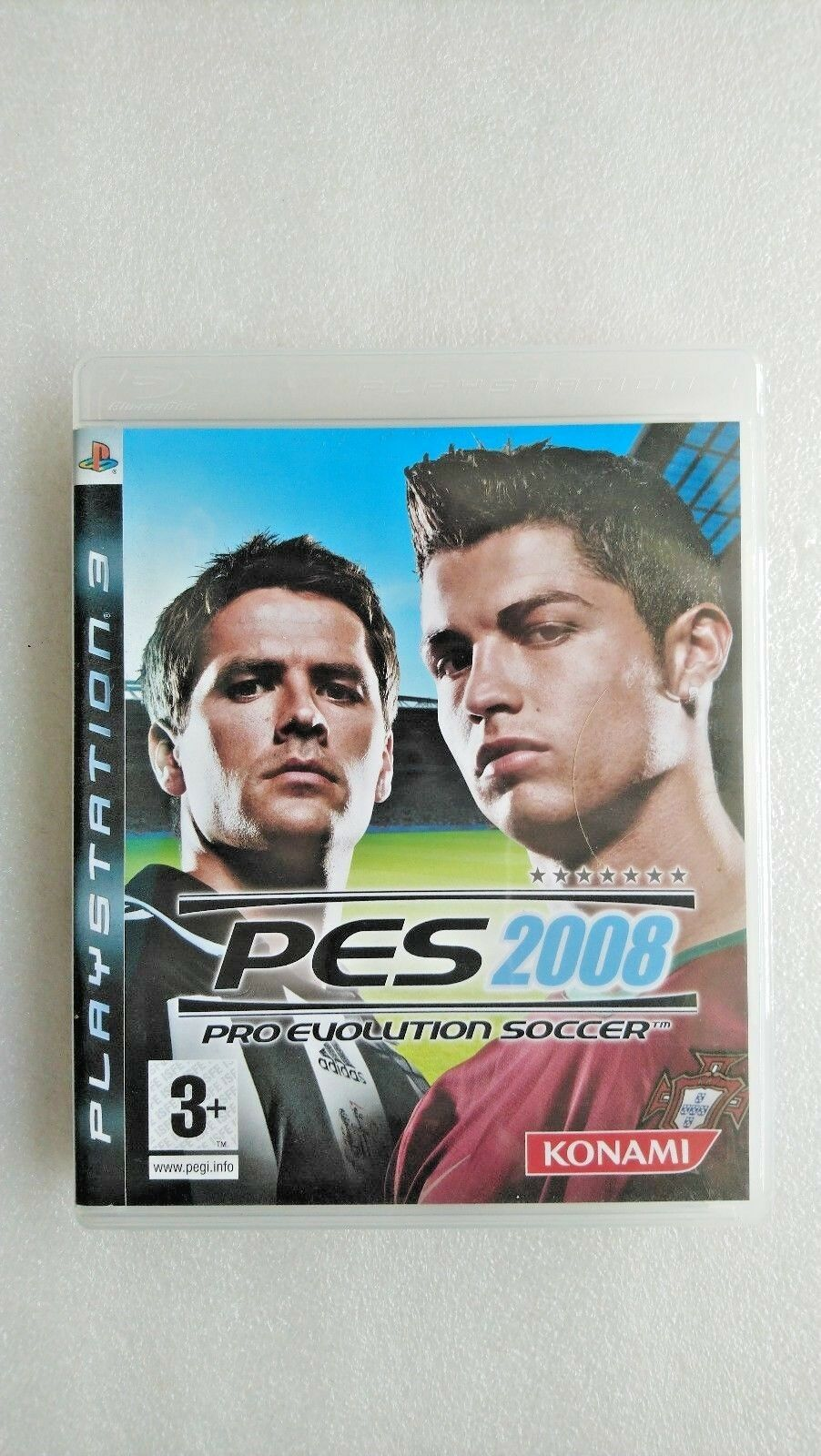 Pro Evolution Soccer 2008 (Sony PlayStation 3, 2007)