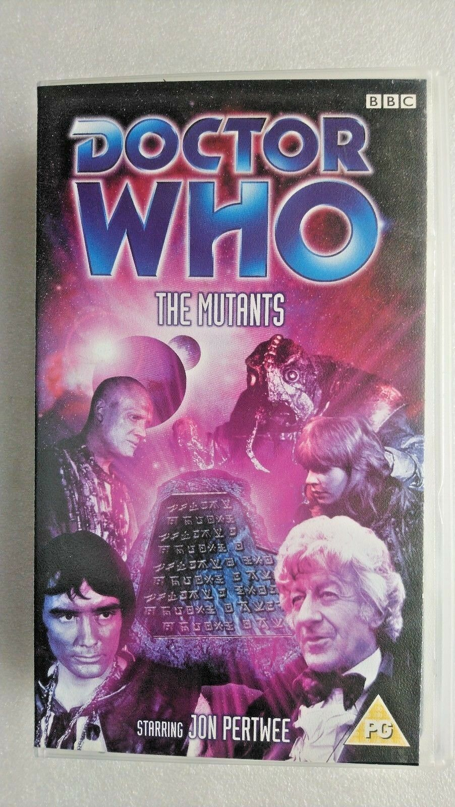 Doctor Who - The Mutants (VHS, 2003) - Jon Pertwee -TAPE NEW and SEALED