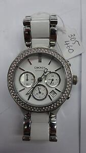 Ladies DKNY Ceramic Watch - White in Colour - Great Condition Dandenong Greater Dandenong Preview