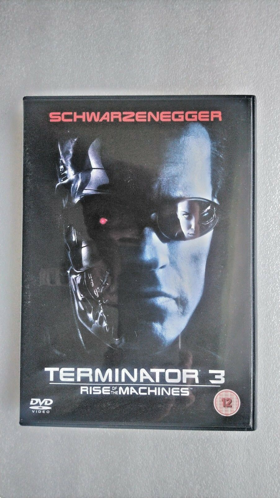 Terminator 3 - Rise Of The Machines (DVD, 2003, 2-Disc Set)