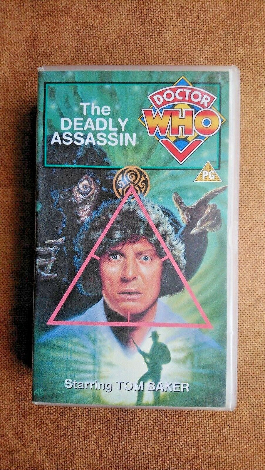 Doctor Who - The Deadly Assassin (VHS, 1995) - Tom Baker