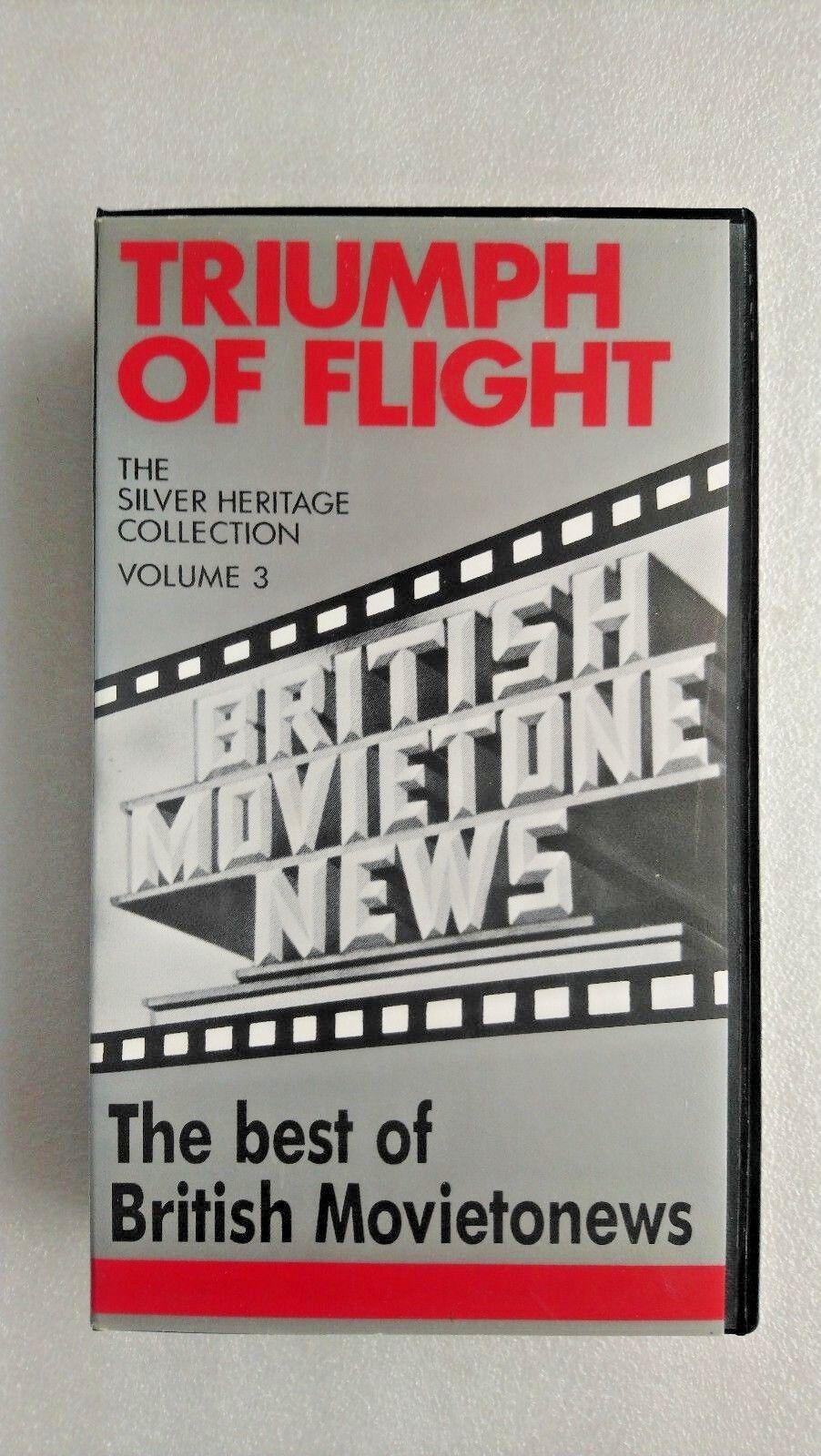 British Movietone News - Vol. 3 - Triumph Of Flight (VHS)
