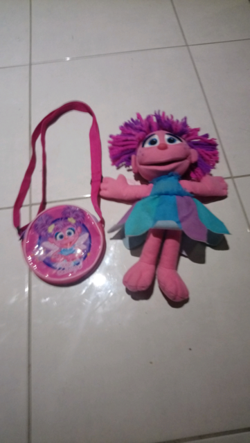 Talking Abby Cadabby And Bag Toys Indoor Gumtree