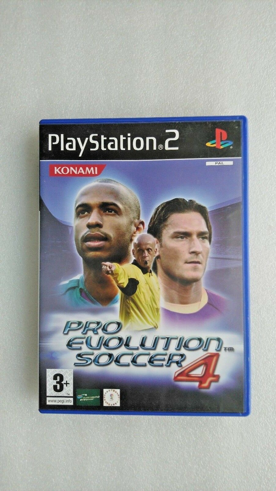 Pro Evolution Soccer 4 (Sony PlayStation 2, 2004)