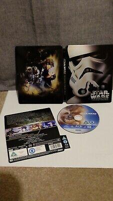 Star Wars Episode V The Empire Strikes Back Blu-ray (Bluray) Steelbook OOP