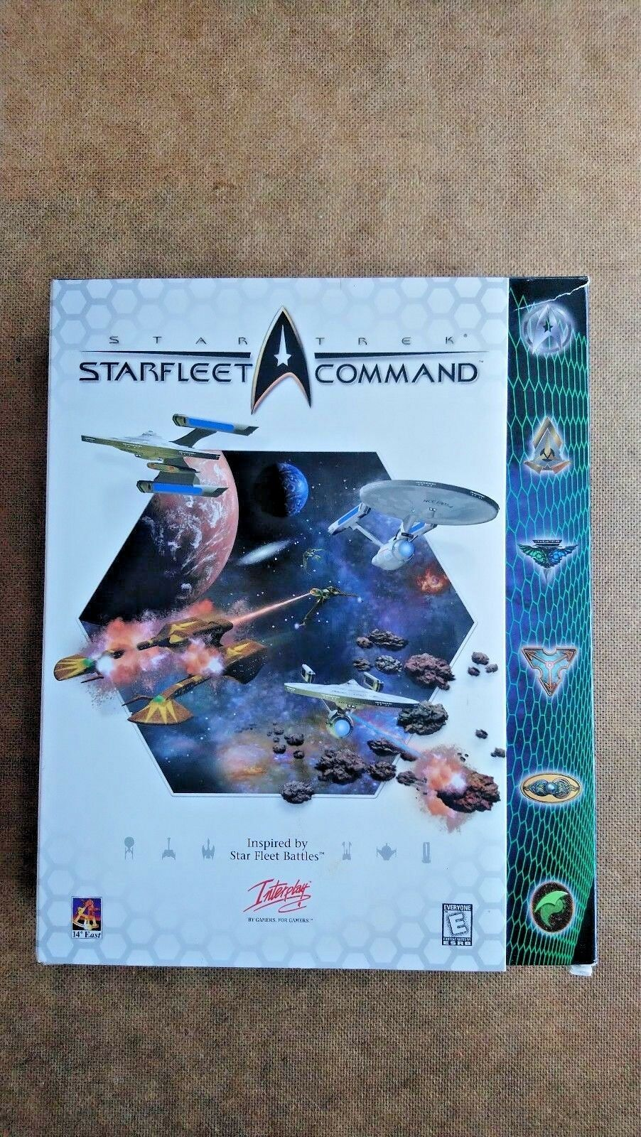 Star Trek: Starfleet Command (PC: Windows, 1999) - Big Box Edition