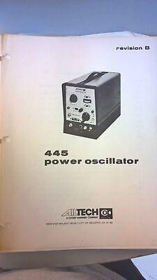 Singer Stoddart Eaton Emco Ailtech 445 Power Oscillator Revision B
