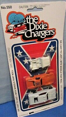 Die Cast ~ Dukes of Hazzard 3 Car Set ~ General Lee ~ Police Car, Jeep