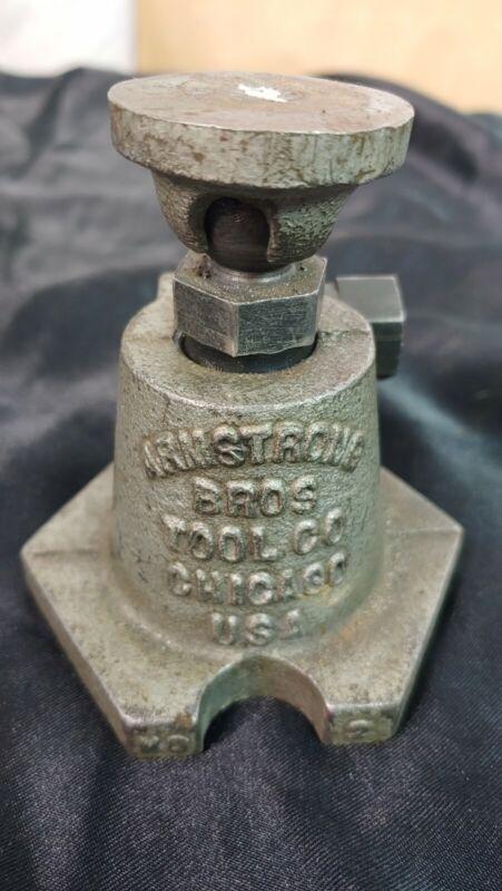 Armstrong No. 2 Machinist Screw Jack Leveling Jack  Vintage